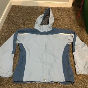 Blue The North Face Rain/Snow Jacket Size S